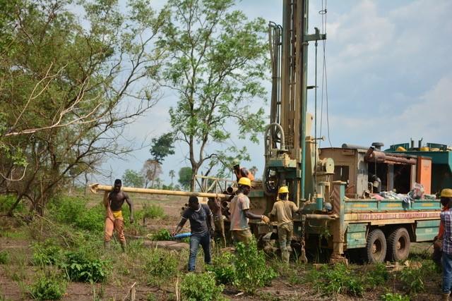 BIDG: Erstellung eines Brunnens bei der Nursery